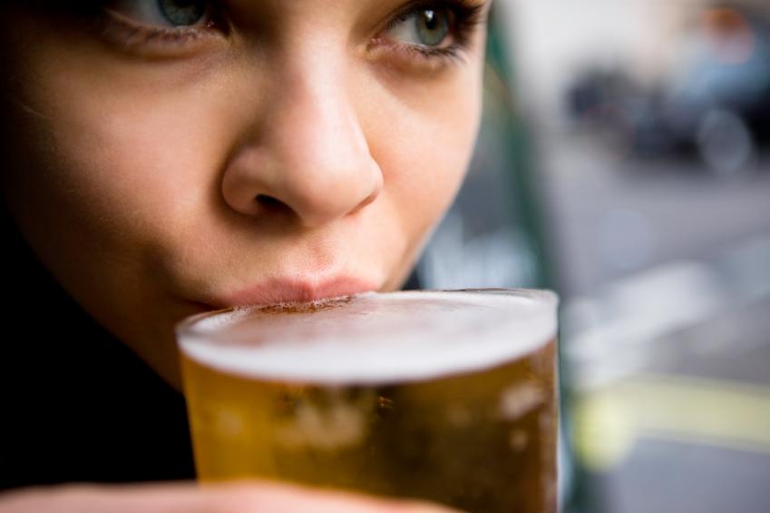Cerveza-mujer