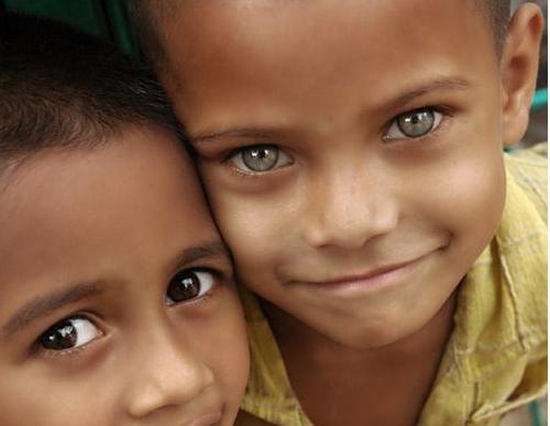 Imagenes De Niños De Distintas Razas: 18 Niños De Diferentes Razas Que Te Conquistarán Con Su