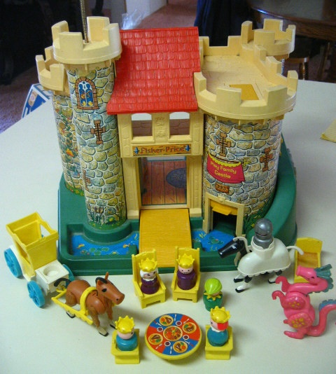 Fisher-Price-castle-playset.