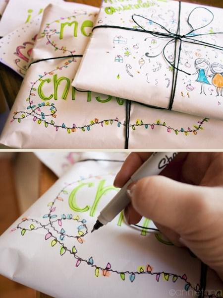 16 formas ingeniosas y bellas para envolver regalos que te - Envoltorios originales para regalos ...