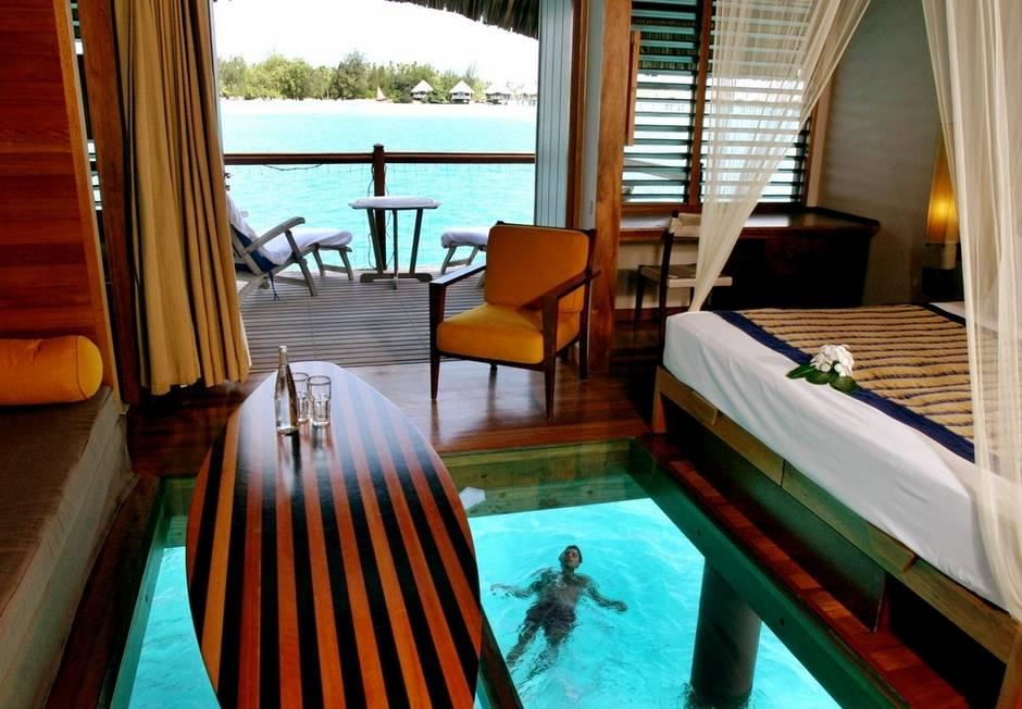 Las 20 habitaciones mas hermosas del mundo las quiero for Habitaciones sobre el mar
