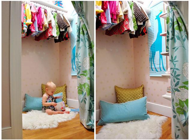 23 formas ingeniosas de transformar un armario que no - Como hacer un closet en una habitacion ...