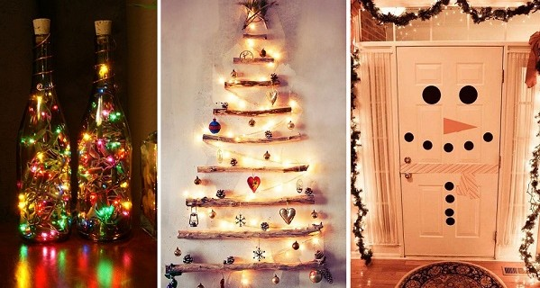 20 ideas f ciles y econ micas para decorar tu casa estas for Ideas para decorar la casa en navidad por fuera