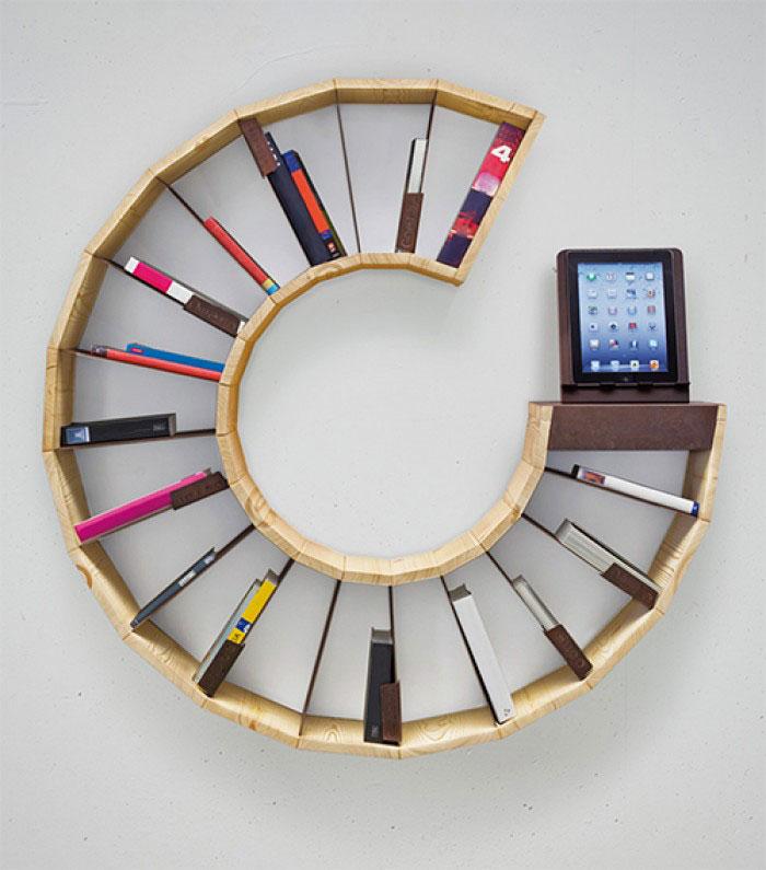 Si te encanta leer vas a querer todos estos muebles para - Muebles para libros modernos ...