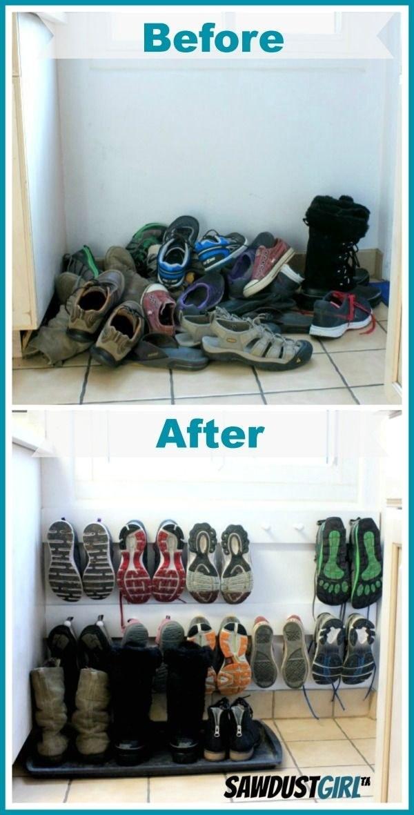 51 trucos para almacenar objetos en tu casa sin utilizar - Guardar zapatos ikea ...