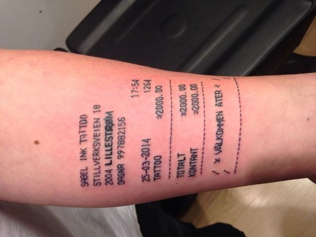 15 Tatuajes Que Nos Hicieron Perder La Fé En La Humanidad Durante El