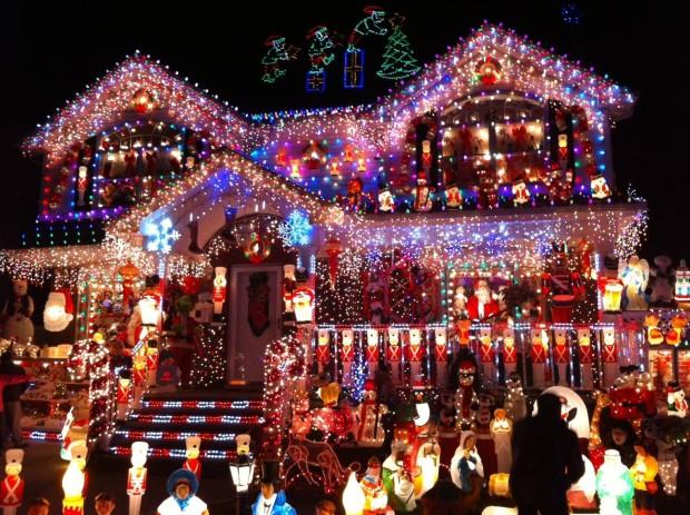 Conoce las 12 casas mejor adornadas en estas Navidades INCREBLE