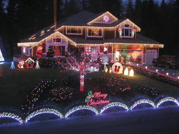 Fotos Casas Decoradas Navidad.Conoce Las 12 Casas Mejor Adornadas En Estas Navidades