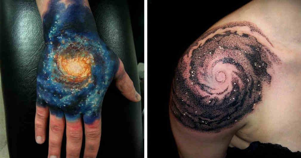 Los 16 Tatuajes De Planetas Y Constelaciones M 225 S Geniales