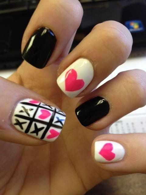 30 Diseños de uñas monocromáticos que te harán lucir muy GLAMOROSA ...