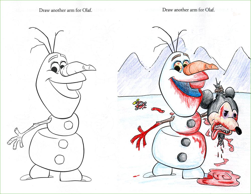 24 Dibujos Para Ninos Coloreados Por Adultos Infancia Arruinada