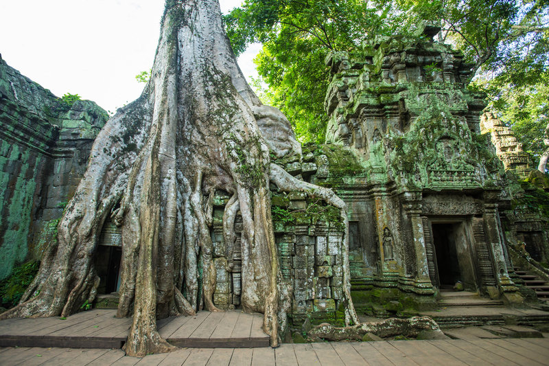 Ta Prohm is the modern name of what was originally called