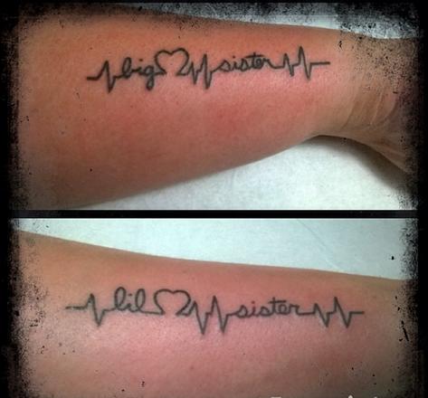 26 Tatuajes Delicados Y Sencillos Para Hermanas Que Te Encantarán