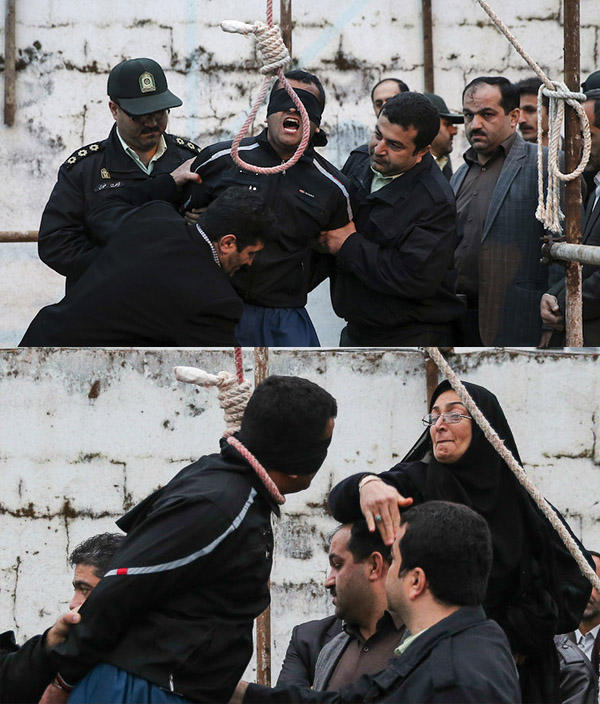 Mideast Iran Forgiven Killer