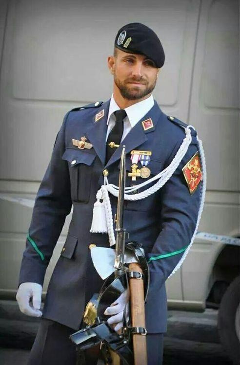 Sexy, hombre en uniformes, herramientas Foto de