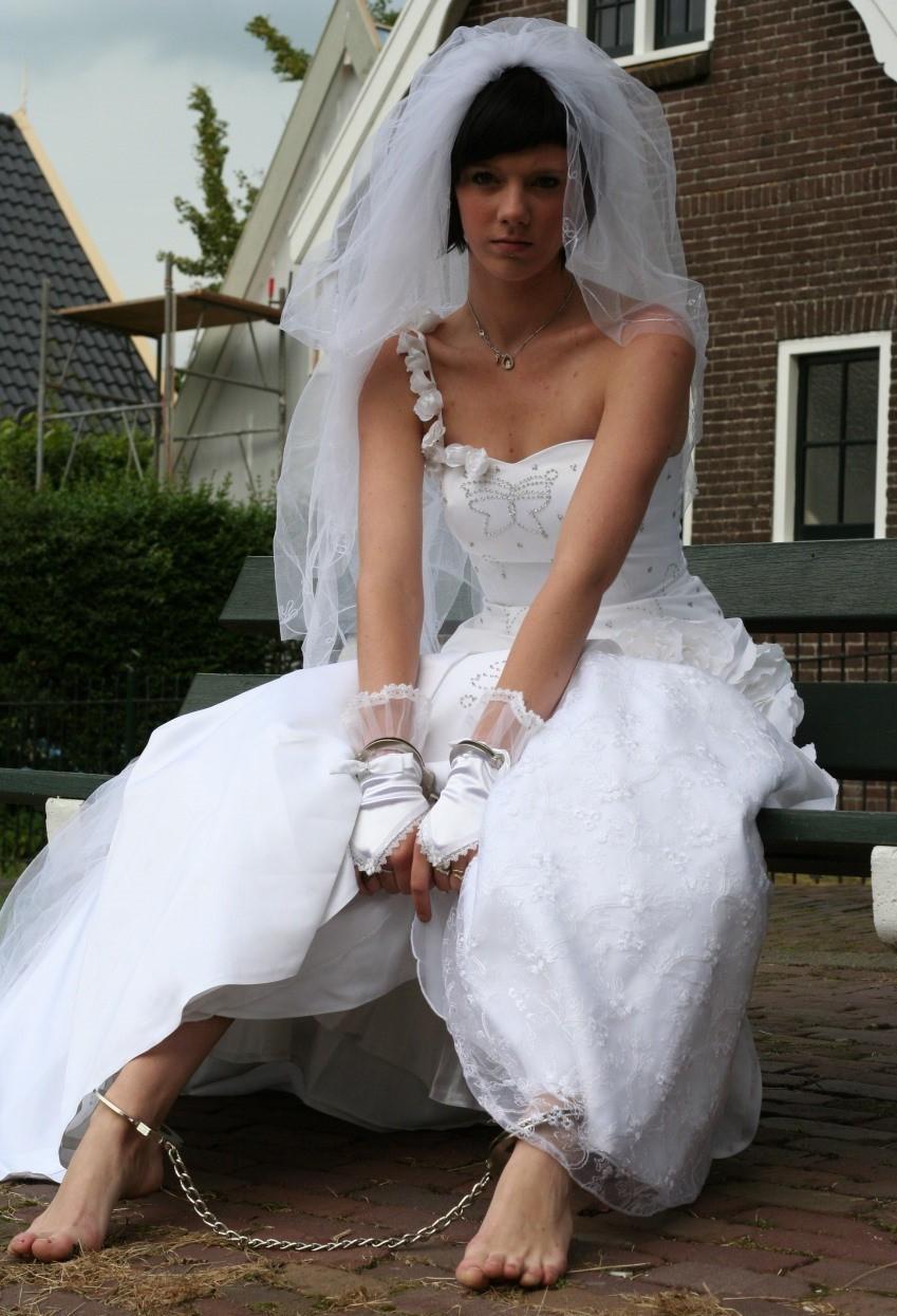 pantyhose Brides wearing