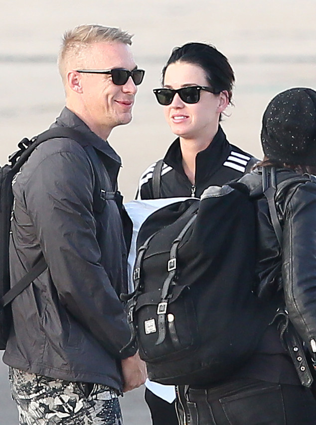 Exclusive... Katy Perry & Diplo Celebrate Her 30th Birthday! NO WEB USE