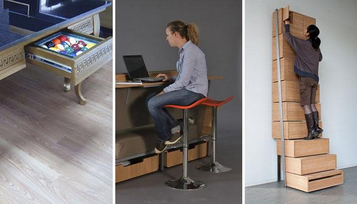 20 muebles inteligentes dise ados por aut nticos genios - Muebles inteligentes ...