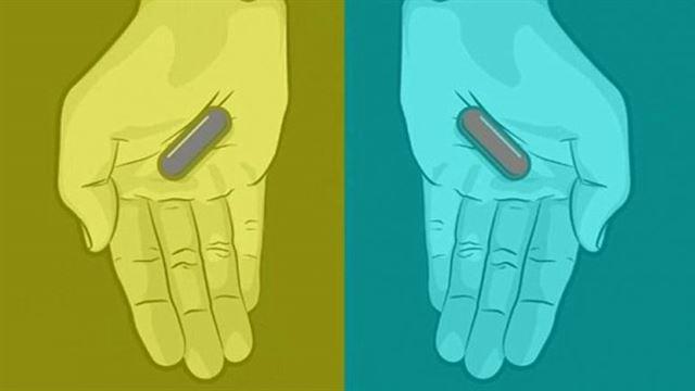 capsulas-roja-azul