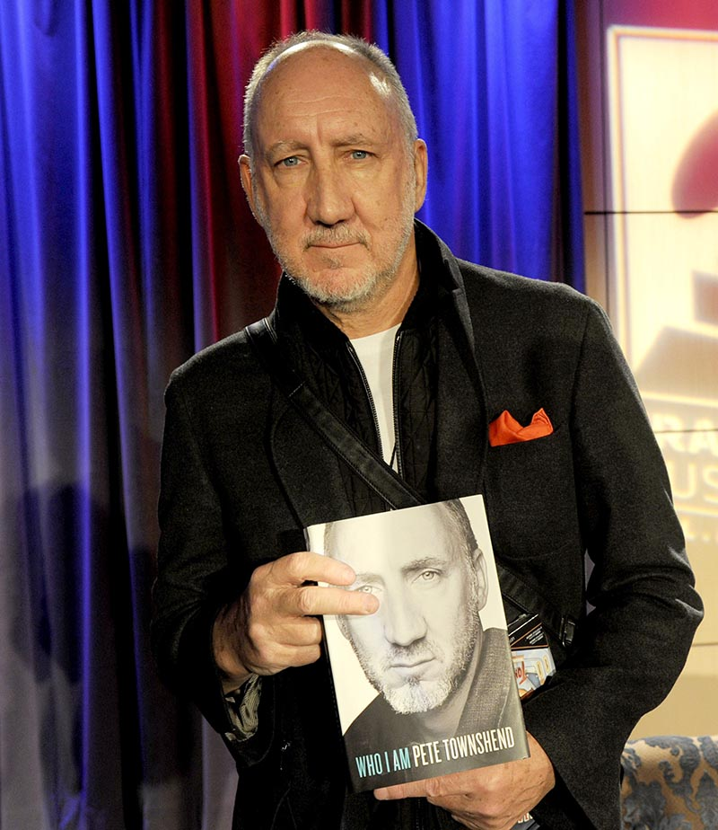 The GRAMMY Museum Presents Pete Townshend Who Am I Book Signing