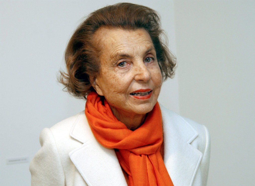 L'Oreal-heiress Liliane Bettencourt