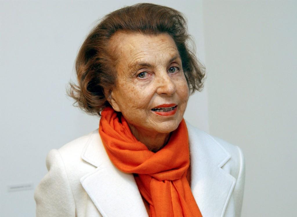L'Oreal-heiress Liliane Bettencourt