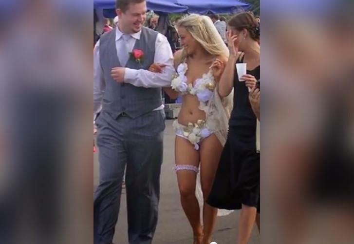 Los 17 vestidos de novia mas provocativos