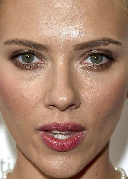 22 Close-Up a los rostros de famosos ¡Algunos son ... скарлетт йоханссон без макияжа