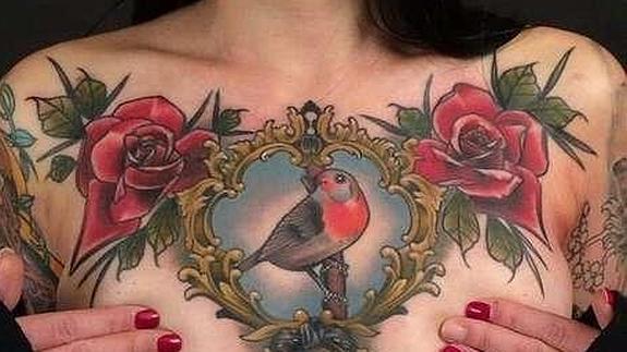Resultado de imagen para tatuajes mastectomia