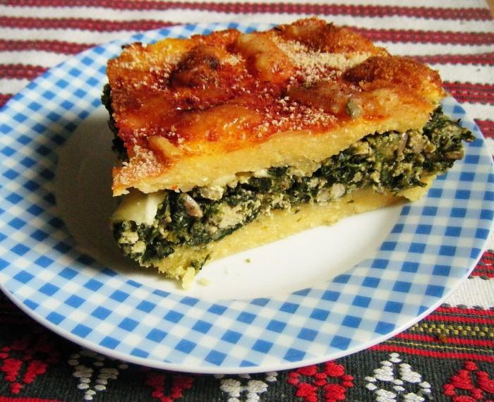 torta de vegetales con queso