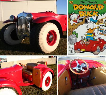 Donald Duck's Car