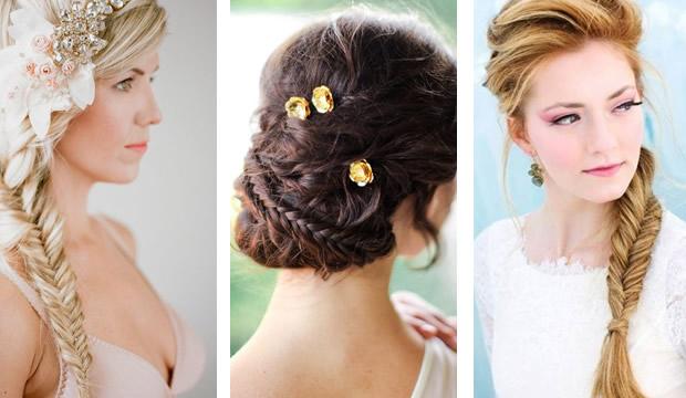 Peinados de novias trenzas