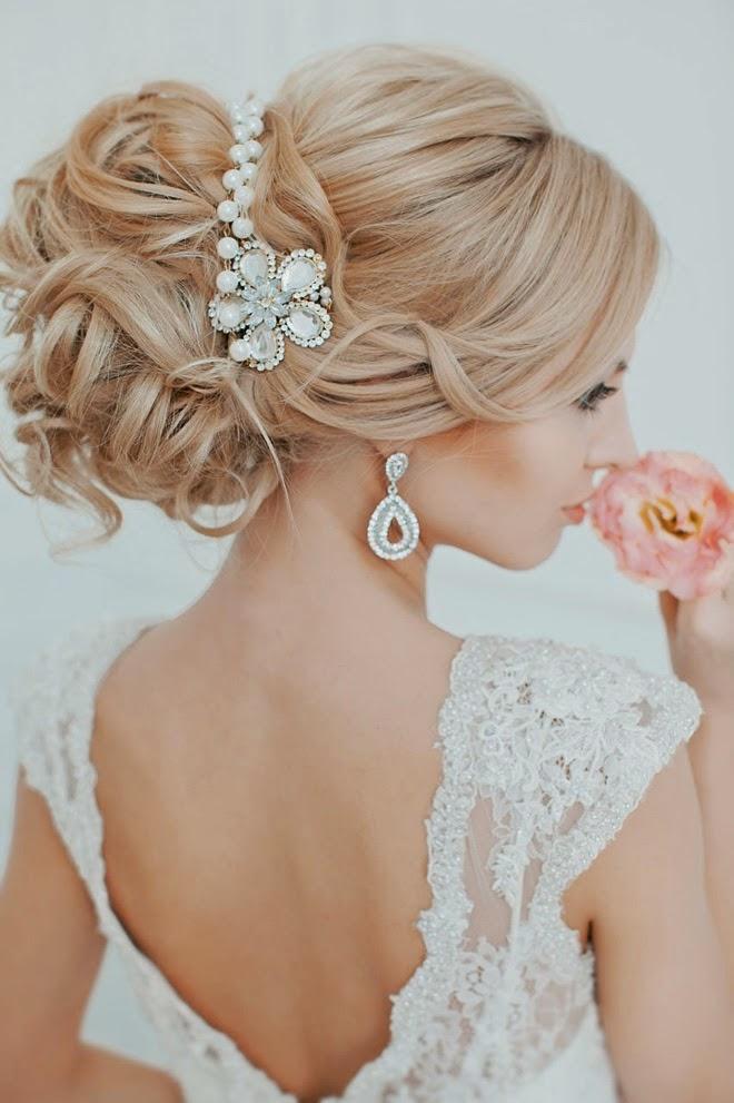 Banging peinados novia Galería de cortes de pelo Ideas - 10 Peinados de novia que querrás lucir el día de tu boda ...