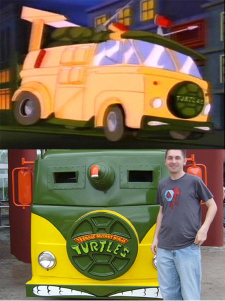 Turtle Van (Teenage Mutant Ninja Turtles)