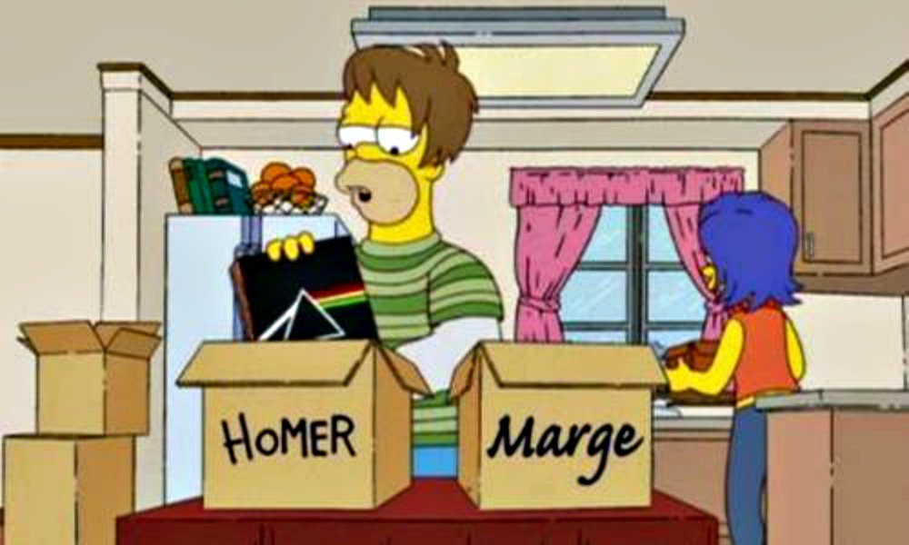 homero-y-marge-simpson