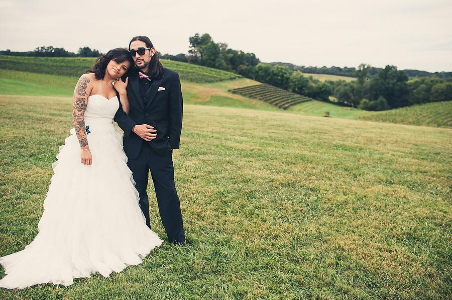 Maryland Linganore Winery Wedding