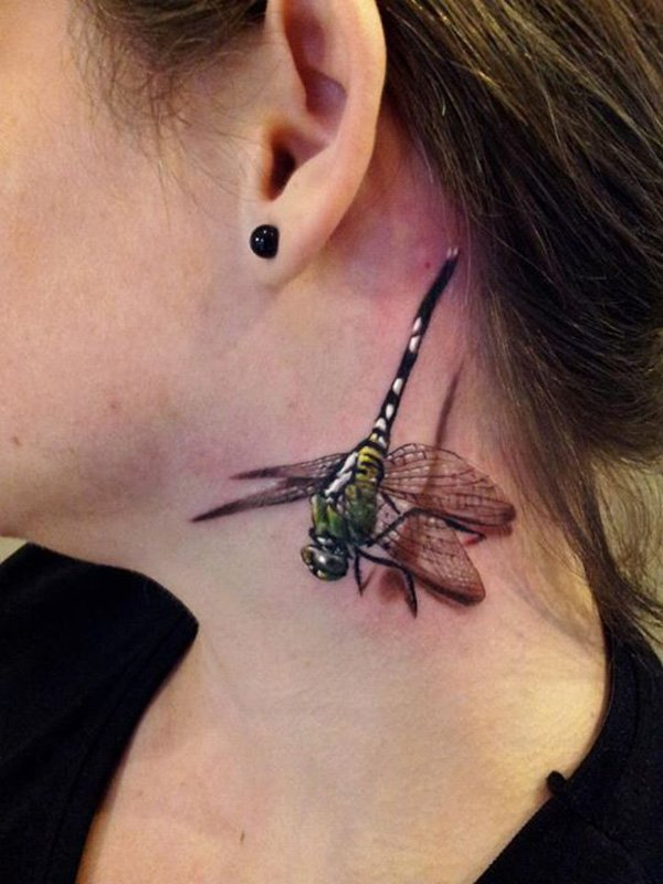 36-3d-dragonfly-tattoo-on-neck