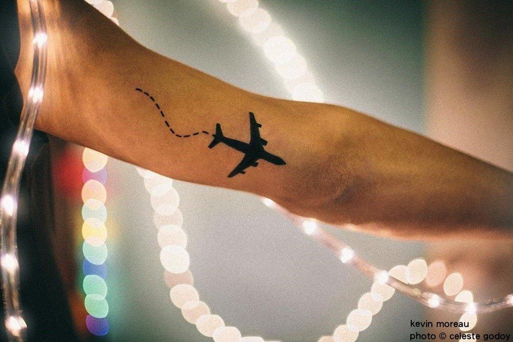 Tatuaje Relacionado Con Viajar Sfb