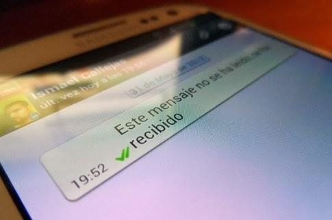 Qué significa el doble check verde de WhatsApp[3]