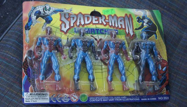 Toys-Spaderman