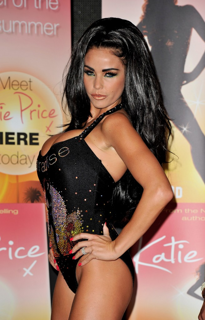 Katie Price Launches Her Latest Novel 'Paradise'
