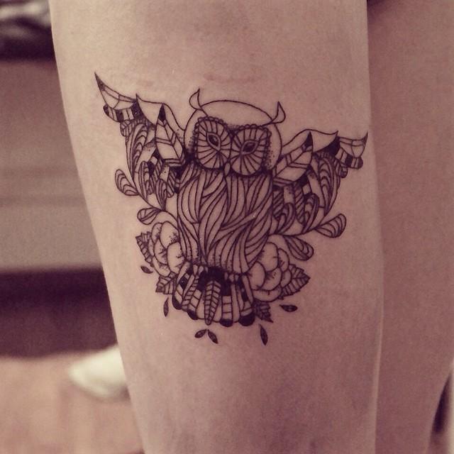 17 Tatuajes minimalistas que representan la naturaleza