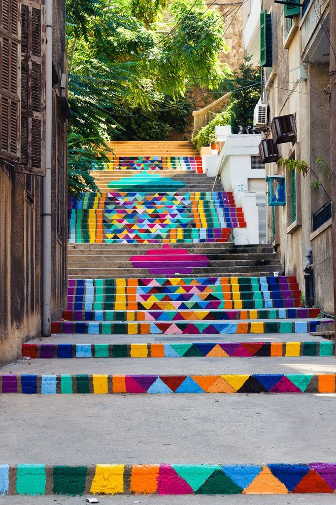 Las 17 escaleras públicas más bonitas del mundo