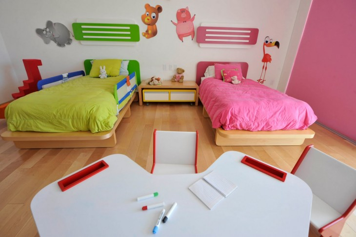 Ni o y ni a 25 ideas geniales para habitaciones for Ideas para decorar habitacion compartida nino nina