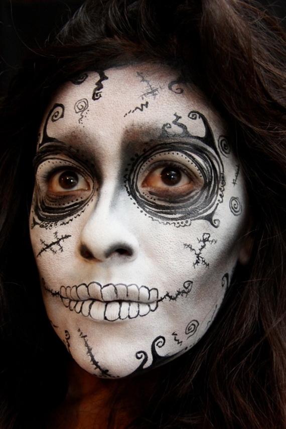 Halloween-Makeup-For-Women-60-Creepy-8