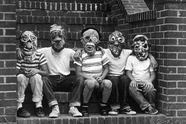 La máscara para la persona la crema agria el óleo etérico