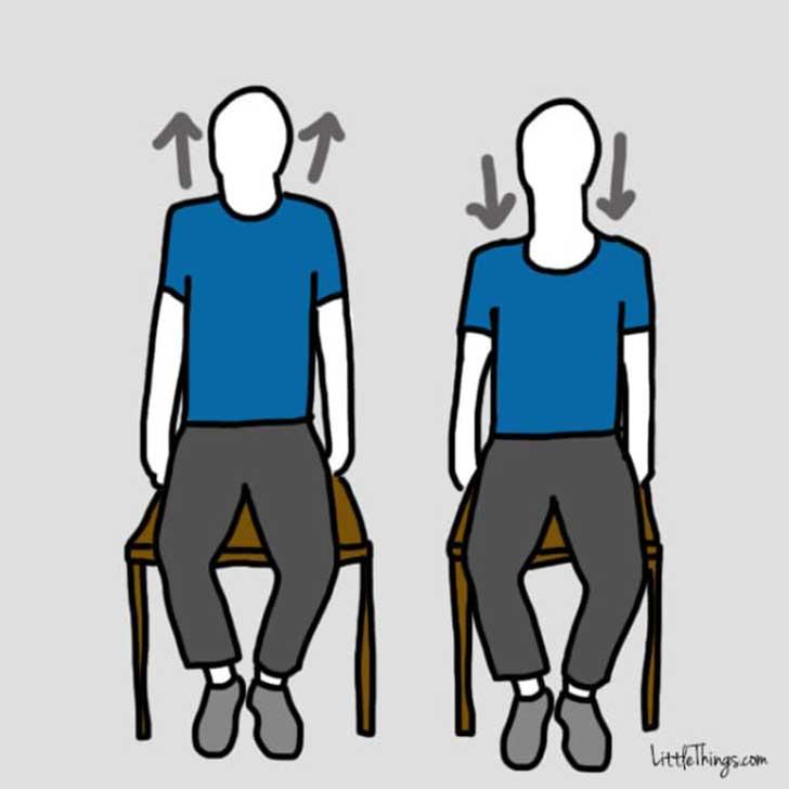 Ejercicios para aliviar tus dolores sin moverte de tu silla