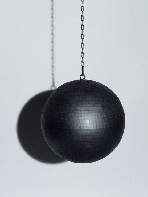 black-disco-ball