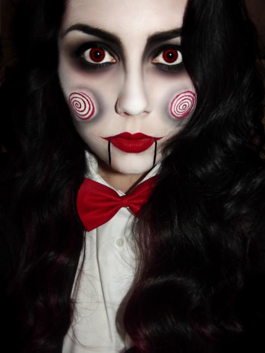 25 Ideas de maquillaje para ser la más original y aterradora en ...