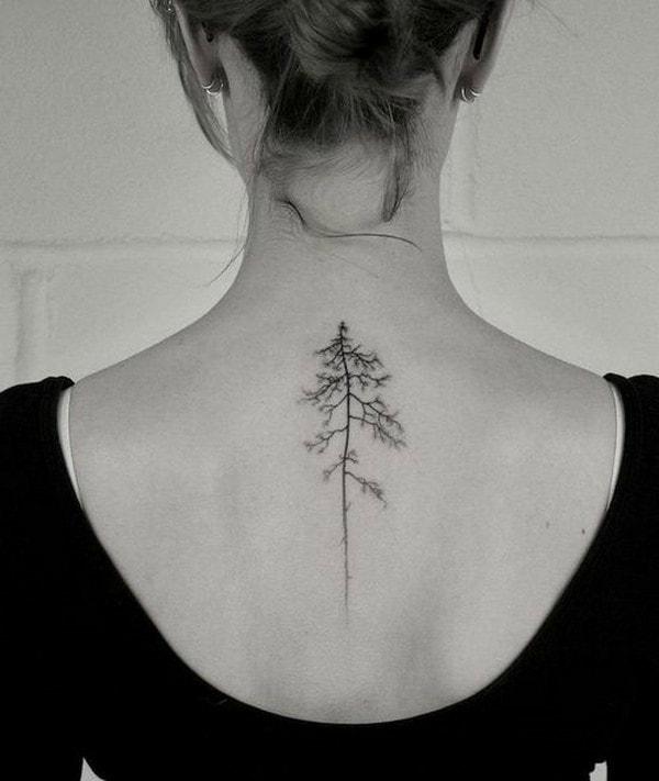 Este delicado árbol.